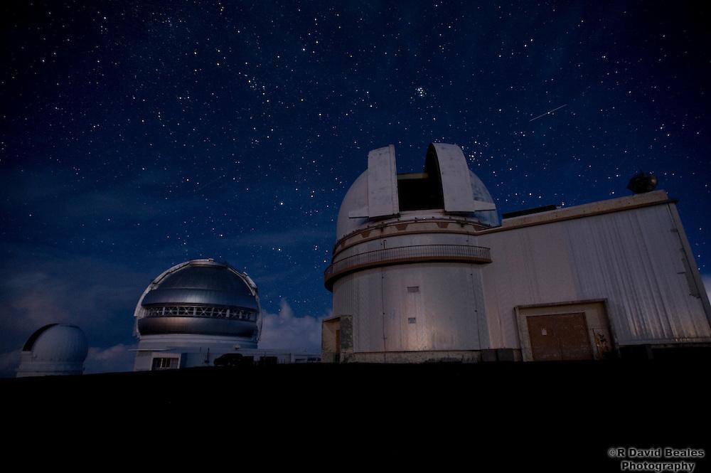 Observatories on top on Mauna Kea