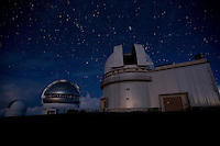 Observatories on top on Mauna Kea