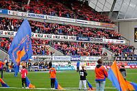 Ålesund 20110425. Bilder fra eliteseriekampen i fotball mellom Aalesund og Sogndal på Color Line Stadion i Ålesund mandag kveld.<br /> Foto: Svein Ove Ekornesvåg