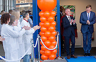 Zutphen, 26-02-2016<br /> <br /> King WIllem-Alexander opens  new dairy laboratory  Qlip in Zutphen. <br /> Qlip is  the largest dairy laboratory of Europe.<br /> <br /> <br /> COPYRIGHT ROYALPORTRAITS EUROPE/ BERNARD RUEBSAMEN