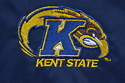 Kent State Golden Flashes logo during the second half of an NCAA basketball game against the Vanderbilt Commodores in Nashville, Tenn., Friday, Nov. 23, 2018. Kent State won 77-75. (Jim Brown/Image of Sport)