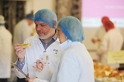 Scottish Bakery Awards_Dunfermline Blcc_17-04-2019<br /> <br /> Checking out the sausage rolls<br /> <br /> (c) David Wardle | Edinburgh Elite media
