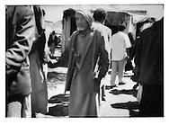 13..Wary gaze from gun-toting tribesman at the gunrunners? suq near Saudi border, Suq al Talh, Sadah Governate.