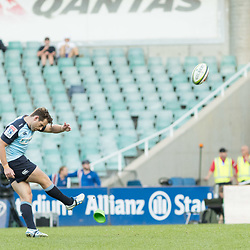 Bernard Foley of the Waratahs during the super rugby match between Waratahs and the Rebels Allianz Stadium 21 May 2017(Photo by Mario Facchini -Steve Haag Sports)
