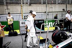 November 17, 2019, Sao Paulo, Brazil: Motorsports: FIA Formula One World Championship 2019, Grand Prix of Brazil, . #44 Lewis Hamilton (GBR, Mercedes AMG Petronas Motorsport) (Credit Image: © Hoch Zwei via ZUMA Wire)