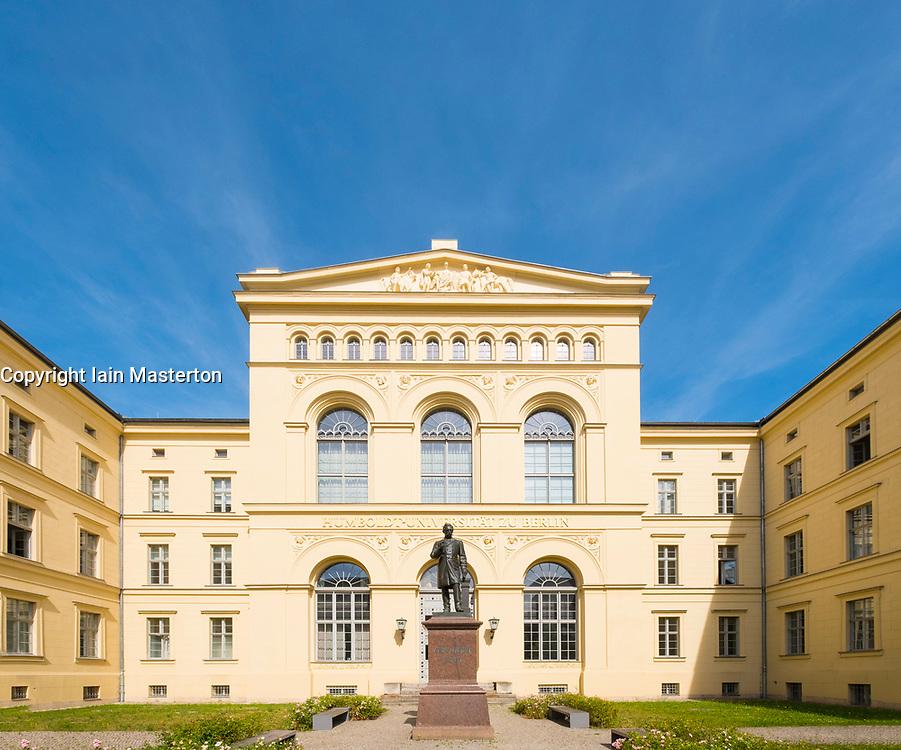 Humboldt Graduate School part of Humboldt University in Berlin. Germany