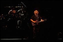 Jerry Garcia with The Grateful Dead Live at the Knickerbocker Arena, Albany NY, 24 March 1990. View from the Lighting Booth, Dead Center, Floor. Shot during Terrapin.