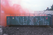 Graffiti, Glastonbury, 1992.