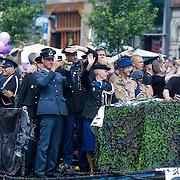 NLD/Amsterdam/20120804 - Canalparade tijdens de Gaypride 2012, boot defensie