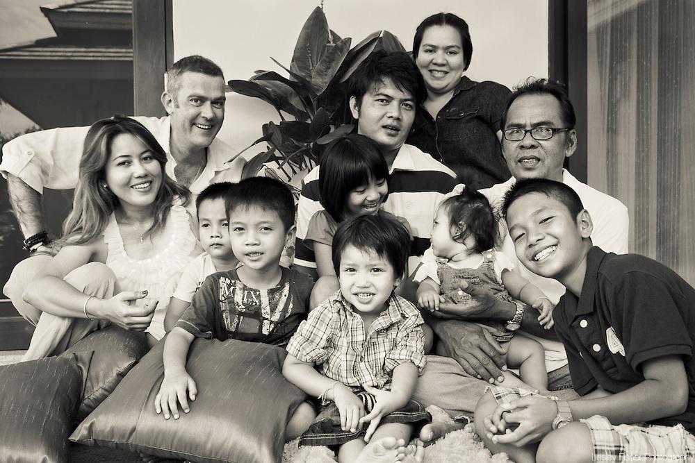 Thai Family portrait