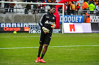 Kossi AGASSA - 25.01.2015 - Reims / Lens  - 22eme journee de Ligue1<br /> Photo : Dave Winter / Icon Sport *** Local Caption ***