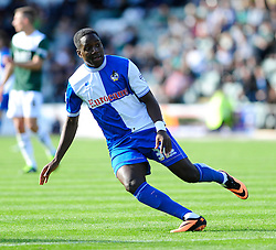 Bristol Rovers' Shaquille Hunter  - Photo mandatory by-line: Dougie Allward/JMP - Tel: Mobile: 07966 386802 07/09/2013 - SPORT - FOOTBALL -  Home Park - Plymouth - Plymouth Argyle V Bristol Rovers - Sky Bet League Two
