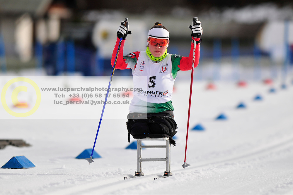 HRAFEYEVA Lidziya, BLR at the 2014 IPC Nordic Skiing World Cup Finals - Middle Distance