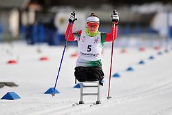HRAFEYEVA Lidziya, BLR at the 2014 IPC Nordic Skiing World Cup Finals - Middle Distance