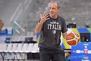 DESCRIZIONE: Torino FIBA Olympic Qualifying Tournament Allenamento<br /> GIOCATORE: Ettore Messina<br /> CATEGORIA: Nazionale Italiana Italia Maschile Senior Allenamento<br /> GARA: FIBA Olympic Qualifying Tournament Semifinale Allenamento<br /> DATA: 09/07/2016<br /> AUTORE: Agenzia Ciamillo-Castoria