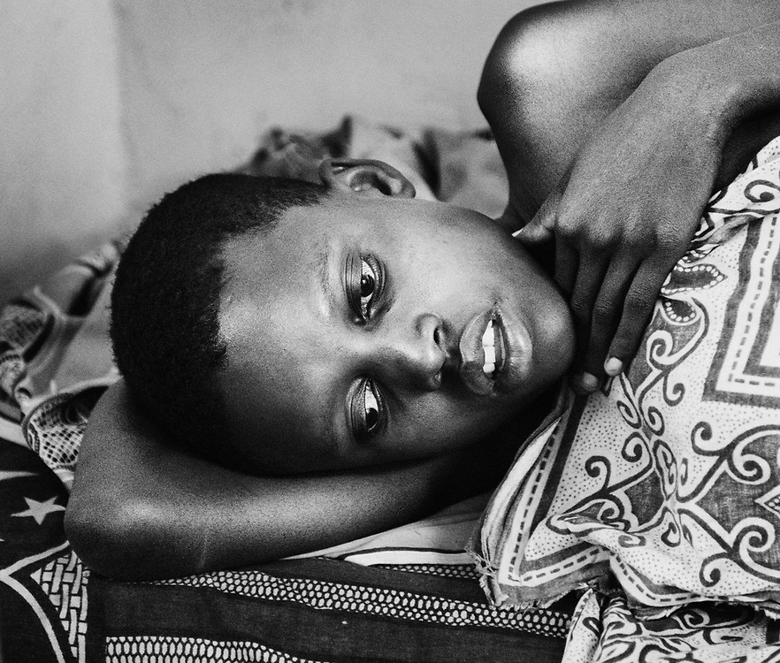 During their lifetime, the majority of the world's women give birth to at least one child. Although everybody goes through the same phases physically, the external conditions are fundamentally different. I have photographed women in labor in Sweden, which has among the world's lowest maternal mortality rates, and Tanzania, where the risk of dying in childbirth is a hundred times higher.