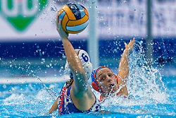 21-01-2020 HUN: European Water polo Championship, Budapest <br /> Slovakia - Netherlands 2—32 / /wnl during LEN European Aquatics Waterpolo on January 21, 2020. SVK vs Netherlands in Duna Arena in Budapest, Hungary