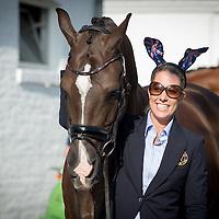 Dressage Horse Inspection - FEI European Championships 2015 - Aachen