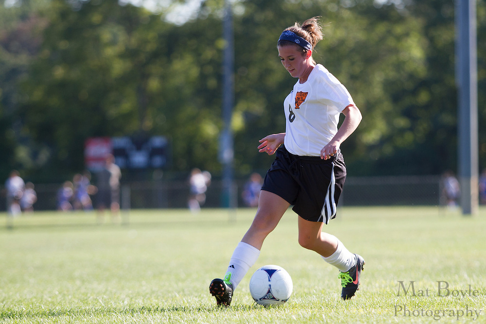 Pitman High School Girl's Soccer vs Gloucester City High School at Alcyon Park in Pitman, NJ on Wednesday September 12, 2012. (photo / Mat Boyle)