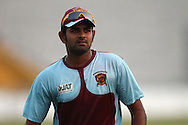 Kandurata Maroons captain Lahiru Thirimanne during the Kandurata Maroons Training Session training session prior to the start of the Karbonn Smart CLT20 2013 held at the PCA Stadium in Mohali on the 15th September 2013<br /> <br /> Photo by Shaun Roy-CLT20-SPORTZPICS <br /> <br /> Use of this image is subject to the terms and conditions as outlined by the BCCI. These terms can be found by following this link:<br /> <br /> http://www.sportzpics.co.za/image/I0000SoRagM2cIEc