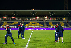General View of PAU sign as Bristol Rugby arrive at the stadium - Rogan Thomson/JMP - 16/12/2016 - RUGBY UNION - Stade du Hameau - Pau, France - Pau v Bristol Rugby - EPCR Challenge Cup.