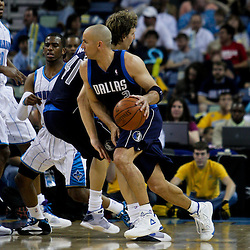 12 April 2009: Dallas Mavericks guard Jason Kidd (2) drives with the ball during a 102-92 victory by the New Orleans Hornets over the Dallas Mavericks on Easter Sunday at the New Orleans Arena in New Orleans, Louisiana.