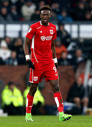 Tammy Abraham of Bristol City - Mandatory by-line: Robbie Stephenson/JMP - 11/02/2017 - FOOTBALL - iPro Stadium - Derby, England - Derby County v Bristol City - Sky Bet Championship