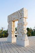 Israel, Old City of Jaffa Statue of Faith by Daniel Kafri, Abrasha Summit Park