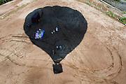Vuelo cautivo en Globo aerostatico. Colon, Panama. ©Victoria Murillo/Istmophoto.com