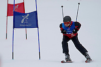 Polish athlete with intelectual disability Dawid Kujawowicz while Alpine Intermediate Super Gigant during 2013 Special Olympics World Winter Games PyeongChang at Yongpyong Resort on February 3, 2013...South Korea, PyeongChang, February 3, 2013..Picture also available in RAW (NEF) or TIFF format on special request...For editorial use only. Any commercial or promotional use requires permission...Photo by © Adam Nurkiewicz / Mediasport