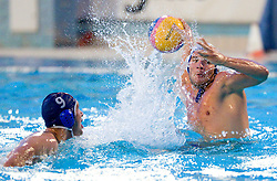 Toni Barbaric of Rokava Koper during water polo match between ASD Vaterpolo Rokava Koper and AVK Triglav Kranj in 3rd Round of Final of Slovenian Water polo National Championship, on June 8, 2011 in Zusterna pool, Koper, Slovenia. Rokava Koper defeated Triglav Kranj 12-6 and became Slovenian Champion 2011. (Photo By Vid Ponikvar / Sportida.com)
