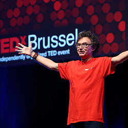 Session I - 28 October 2013<br /> <br /> Walter De Brouwer<br /> <br /> TEDX BRUSSELS 2013 - Belgium - Brussels - October 2013 &copy; TEDx Brussels/Scorpix
