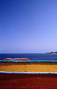 Sicily. boat in the Mediterraneum..Sicilia: barche nel Mediterraneo.