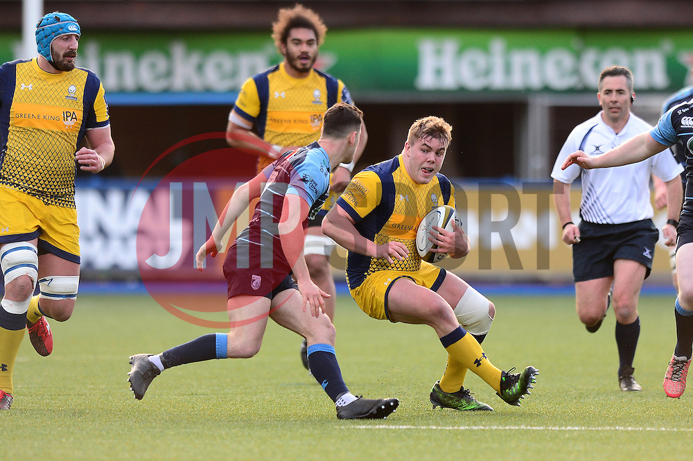 Jack Singleton of Worcester Warriors - Mandatory by-line: Dougie Allward/JMP - 04/02/2017 - RUGBY - BT Sport Cardiff Arms Park - Cardiff, Wales - Cardiff Blues v Worcester Warriors - Anglo Welsh Cup