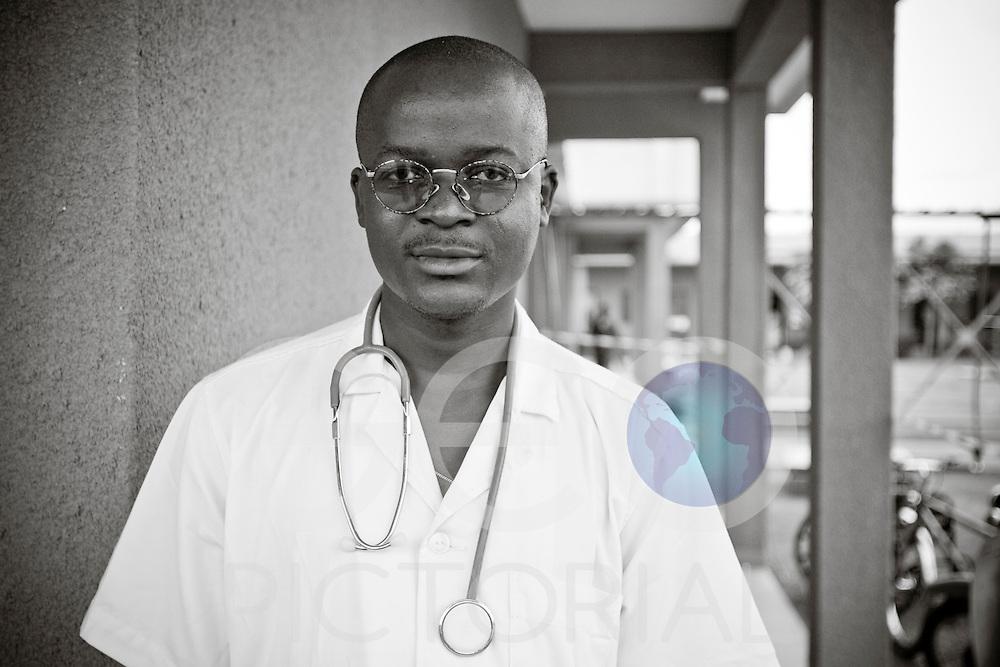 Dr. Sylvain Zabsonre, Cholera Quarantine ward, Sector 30 Ouagadougou Medical Centre.
