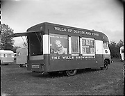 Wills Showmobile at Clondalkin, Dublin.<br /> 20.04.1961