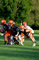 KELOWNA, BC - AUGUST 22:  The Okanagan Sun take part in practice at the Apple Bowl on August 22, 2019 in Kelowna, Canada. (Photo by Marissa Baecker/Shoot the Breeze)