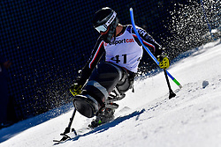 CAIRNS Alex, LW12-1, CAN, Slalom at the WPAS_2019 Alpine Skiing World Cup, La Molina, Spain