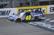 August 16, 2009: 48 Jimmie Johnson at the CARFAX 400 race, Michigan International Speedway, Brooklyn, MI.