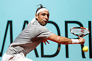 Marcos Baghdatis during the Madrid Open at Manzanares Park Tennis Centre, Madrid<br /> Picture by EXPA Pictures/Focus Images Ltd 07814482222<br /> 02/05/2016<br /> ***UK &amp; IRELAND ONLY***<br /> EXPA-ESP-160502-0080.jpg