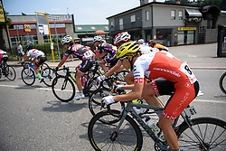 Doris Schweizer (Cylance Pro Cycling) at Giro Rosa 2016 - Stage 4. A 98.6 km road race from Costa Volpino to Lovere, Italy on July 5th 2016.
