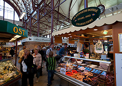 Saluhallen indoor market in Gothenburg Sweden