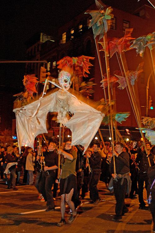 Halloween Parade, Greenwich Village, Manhattan, New York, New York, United States of America