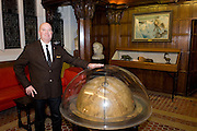 Explorers Club member Ross von Burg an explorer who has sailed extensively and is an expert on civilian future space travel, at the club...Founded in New York City in 1904, The Explorers Club promotes the scientific exploration of land, sea, air, and space by supporting research and education in the physical, natural and biological sciences. The Club's members have been responsible for an illustrious series of famous firsts: First to the North Pole, first to the South Pole, first to the summit of Mount Everest, first to the deepest point in the ocean, first to the surface of the moon--all accomplished by our members.