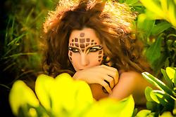 Model:  JJ Assal<br /> Makeup:  Eyes by Je'; Je'Nelle Forbes<br /> Hair: Carmelite Souffront<br /> Photography:  Aisha-Zakiya
