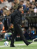 Gary Neville head of Valencia Club de F&uacute;tbol during the Copa Del Rey match at Mestalla, Valencia<br /> Picture by Maria Jose Segovia/Focus Images Ltd +34 660052291<br /> 10/02/2016