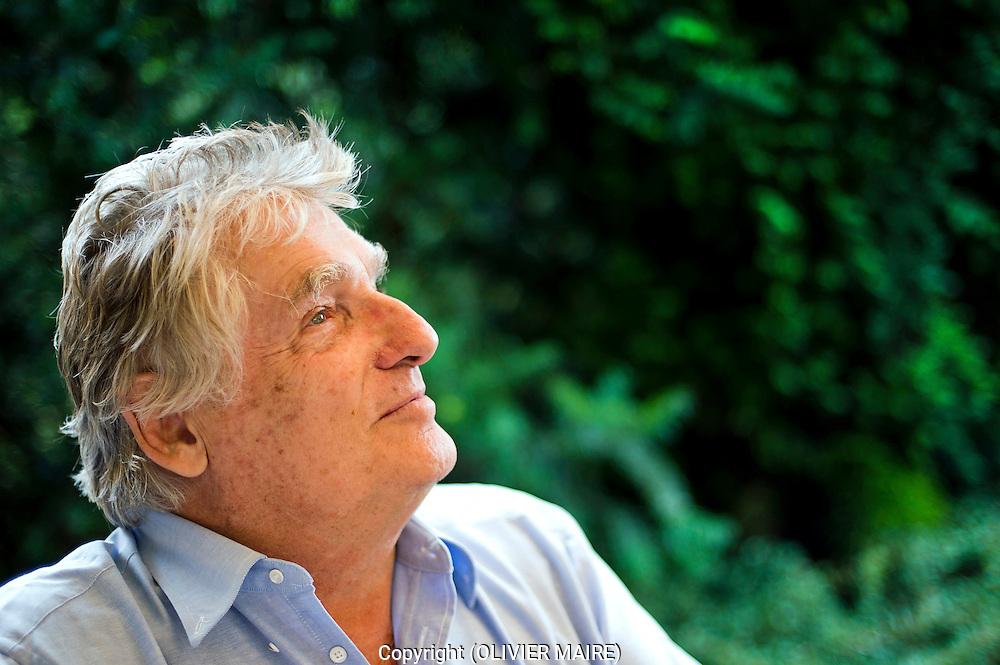Léonard Gianadda, photographie le 20 aout 2010 . Il fête ses 75 ans ce lundi. (Olivier Maire / www.photo-genic.ch)