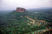 Sigiriya from the air.