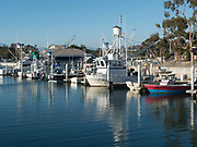 Fishing Boats In Dana Point Harbor