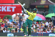 Quinton de Kock during the International T20 match between South Africa and England at Supersport Park, Centurion, South Africa on 16 February 2020.